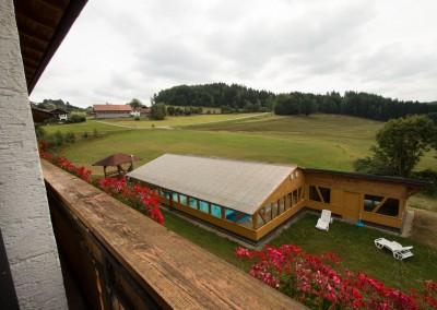 Aussicht Süd-West-Balkon